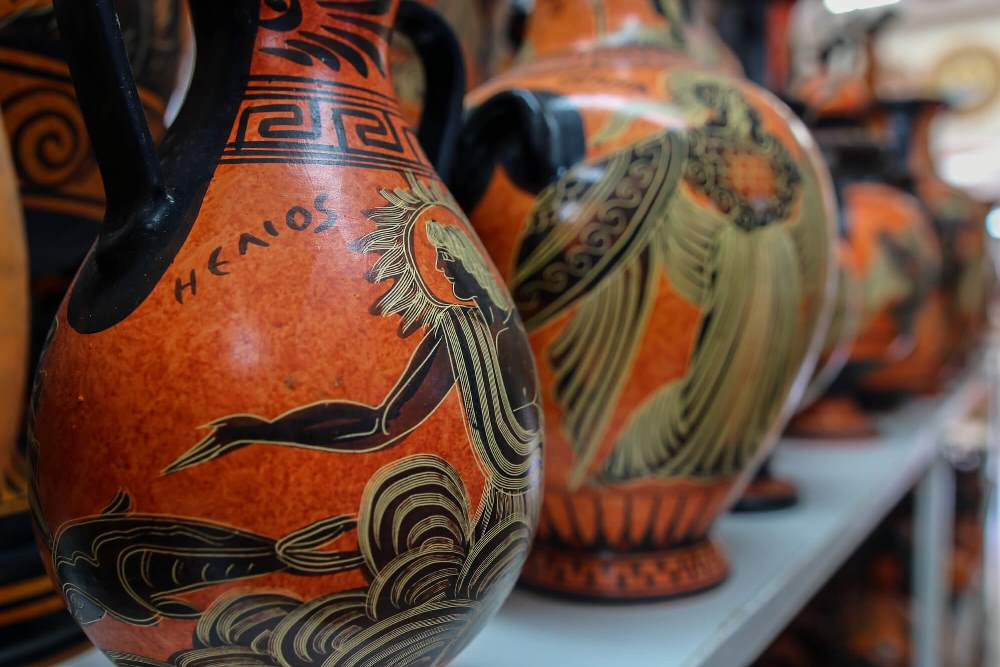 ceramic _Rhodes tours and transfers
